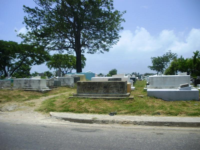 cmentarz w miasteczku