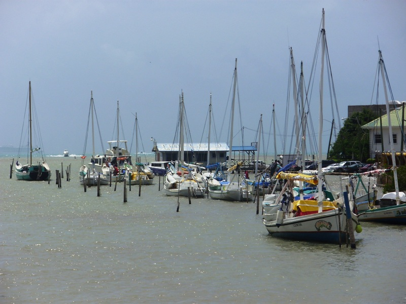 port w Belize City